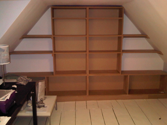 Attic Shelving