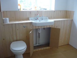 Tongue and Groove WC